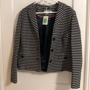 Boden jacket with polka dots